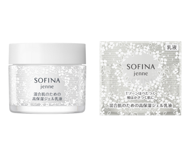 SOFINA 透美顏飽水控油雙效水凝乳液(美白)