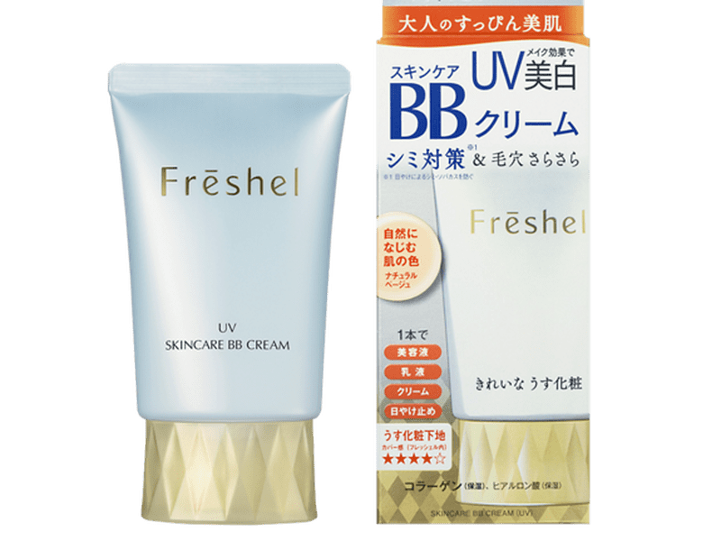Freshel 膚蕊 美肌淨透BB霜(零毛孔)SPF43 PA++