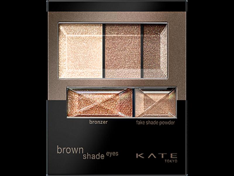 KATE TOKYO 凱婷 3D棕影立體眼影盒N BROWN SHADE EYES N