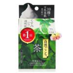 牛乳石鹼 自然派綠茶洗顏皂