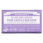 Dr. Bronner`s 布朗博士 有機薰衣草潔顏皂 Lavender Organic Bar Soap